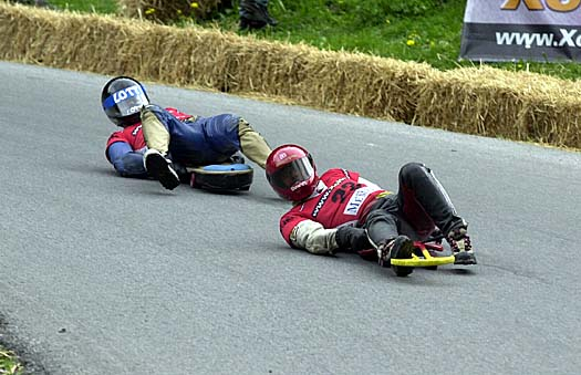 Street Luge Deporte Extremo